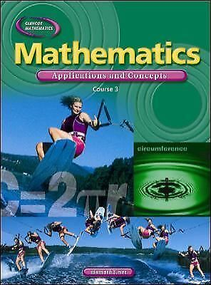 Mathematics: Applications and Concepts, Course 3, Student Edition, McGraw-Hill,
