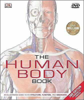 The Human Body Book (Second Edition) by Parker, Steve