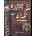 Geography Alive: Regions And People, Diane Hart, Good Book