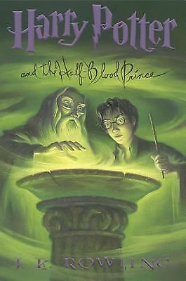 Harry Potter and the Half-Blood Prince (Book 6), J. K. Rowling, Acceptable Book