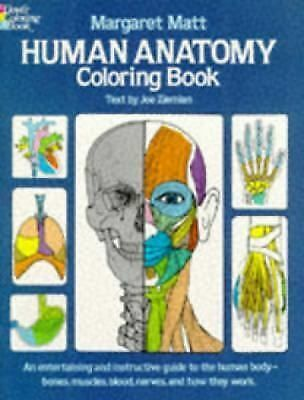 Human Anatomy Coloring Book (Dover Children's Science Books) by Margaret Matt,