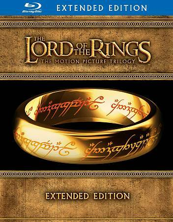 The Lord of the Rings: The Motion Picture Trilogy (Blu-ray Disc, 2012, 15-Disc S