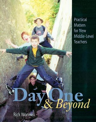Day One and Beyond, Rick Wormeli, Good Book