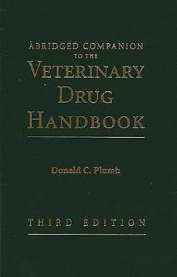 Veterinary Drug Handbook, 3rd Edition by Plumb, Donald C.