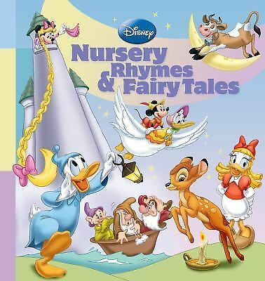 Disney Nursery Rhymes & Fairy Tales (Storybook Collection) by Disney Book Group