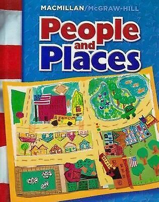 People and Places (Mcgraw-Hill Social Studies), , Good Book