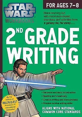 Star Wars Workbook: 2nd Grade Writing by Workman Publishing