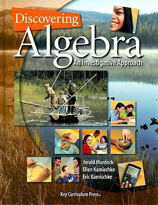 Discovering Algebra: An Investigative Approach (Discovering Mathematics), Jerald
