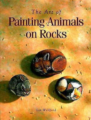 The Art of Painting Animals on Rocks, Lin Wellford, Good Book