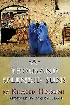 A Thousand Splendid Suns by Khaled Hosseini (2007, CD, Unabridged)