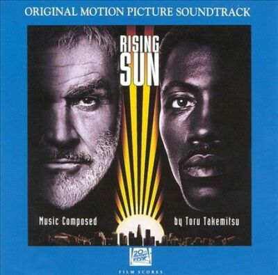 Fox™ RISING SUN Original Soundtrack Album RARE VINTAGE CD