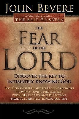 Fear Of The Lord, Bevere, John, Good Book