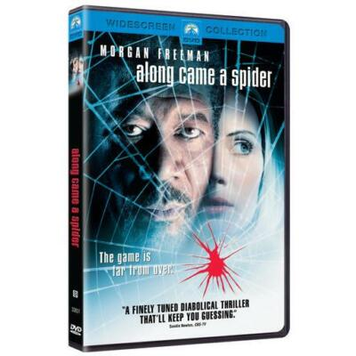 Along Came a Spider (DVD, 2001, Sensormatic) Morgan Freeman prequel thriller