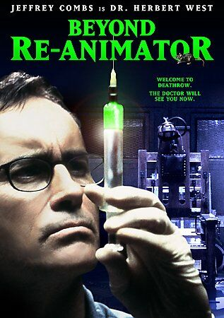 Beyond Re-Animator (DVD, 2003) Lovecraft Jeffrey Combs Mad Science Brian Yuzna