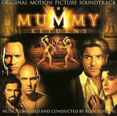 Universal™ THE MUMMY RETURNS Original Soundtrack Album RARE VINTAGE CD