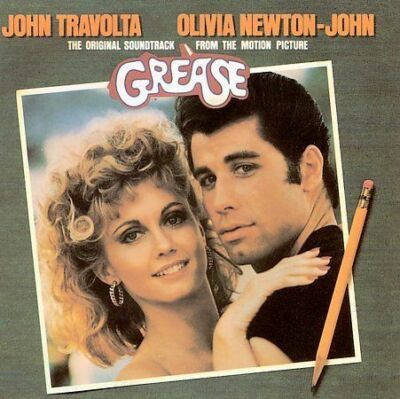 Paramount™ GREASE Original Soundtrack Album RARE VINTAGE CD