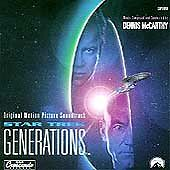 Paramount™ STAR TREK GENERATIONS Original Soundtrack Album RARE VINTAGE CD