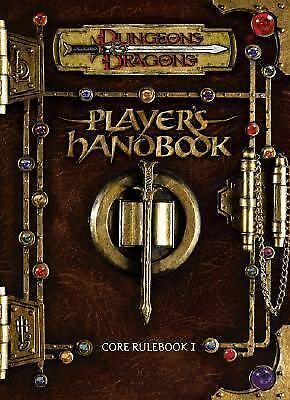 Player's Handbook: Core Rulebook I (Dungeons & Dragons d20 3.0 Fantasy Roleplayi