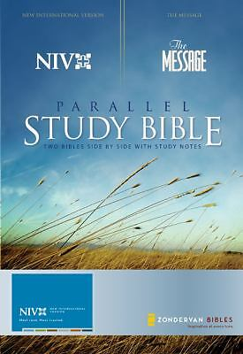 NIV and The Message Parallel Study Bible: Updated Numbered Edition, Zondervan, V