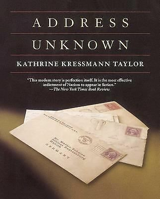 Address Unknown by Taylor, Kathrine Kressmann