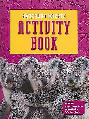 Science Activity Book Grade K, Harcourt, Good Book