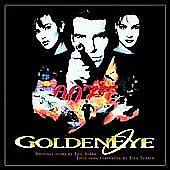 MGM™ 007 GOLDENEYE Original Soundtrack Album RARE VINTAGE CD