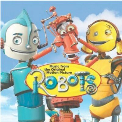 Fox™ ROBOTS Original Soundtrack Album RARE VINTAGE CD