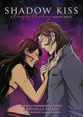 Shadow Kiss: A Graphic Novel (Vampire Academy), Mead, Richelle, Very Good Book