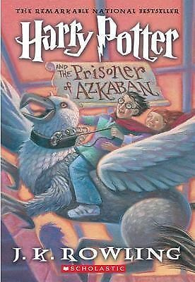 Harry Potter and the Prisoner of Azkaban (Book 3), J.K. Rowling, Acceptable Book
