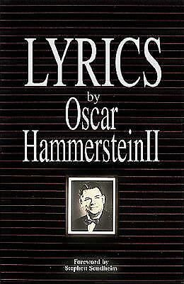 Lyrics by Oscar Hammerstein  II by Hammerstein, Oscar