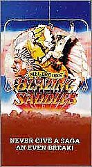 Blazing Saddles (VHS, 1993, Fullscreen)