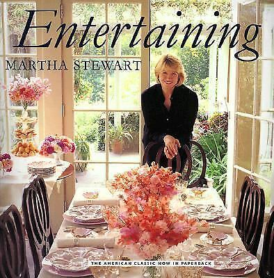 Entertaining, Martha Stewart Living Magazine, Very Good Book
