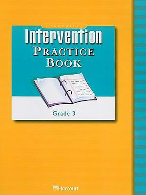 Trophies Intervention Practice Book Grade 3: Harcourt School Publishers Trophies