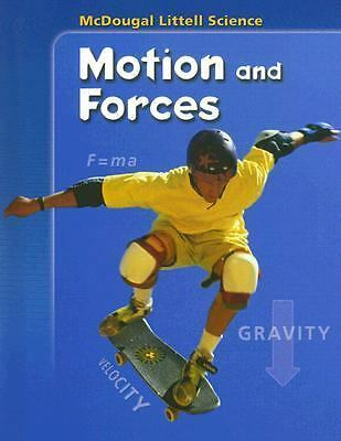 Motion and Forces (McDougal Littell Science), McDougal Littell, Very Good Book
