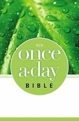 NIV Once-A-Day Bible, Zondervan, New Book