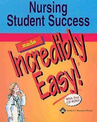 Nursing Student Success Made Incredibly Easy! (Incredibly Easy! Series®), , Good