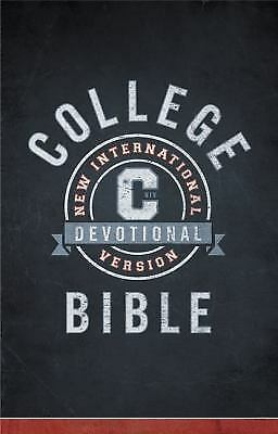 NIV, College Devotional Bible, Hardcover, Hudson, Christopher D., Good Book