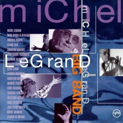 Michel LeGranD BIG BAND CD BRAND NEW FREE SHIPPING