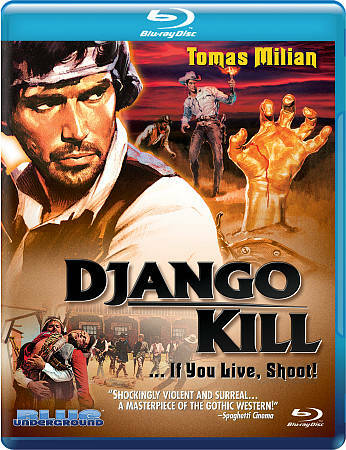 DJANGO KILL ...IF YOU LIVE, SHOOT! BLU-RAY BRAND NEW FREE SHIPPING