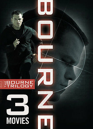 The Bourne Trilogy (The Bourne Identity / The Bourne Supremacy / The Bourne Ulti