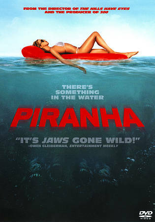 Piranha (DVD, 2011) Eli Roth Jessica Szohr Christopher Lloyd Creature Feature