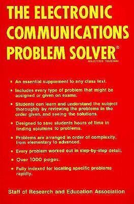 Electronic Communications Problem Solver (Problem Solvers Solution Guides), The