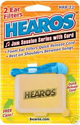 Hearos Ear Filters Jam Session Series Noise Plugs
