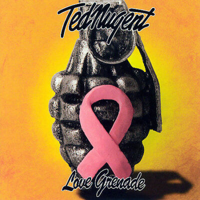 Ted Nugent Love Grenade CD NEW FREE SHIPPING!!!0