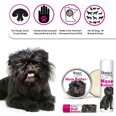 AFFENPINSCHER NOSE BUTTER® FOR DRY, CRUSTY DOG NOSES N TINS/TUBES SCENTED OR NOT