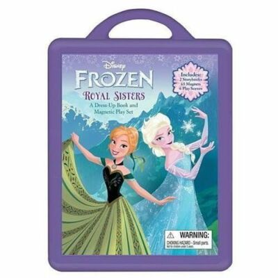 Frozen Frozen Book and Magnetic Play Set: A Dress-Up Book and Magnetic Play Set,