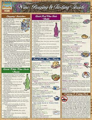 Wine Guide Laminated Reference Guide (Quickstudy: Home), , Very Good Book
