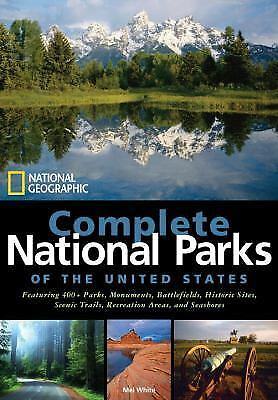 National Geographic Complete National Parks of the United States, White, Mel, Ve