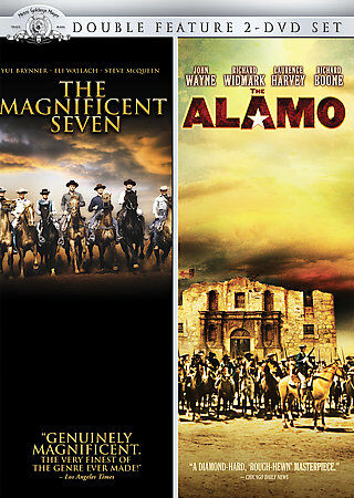 The Magnificent Seven / The Alamo (Double Feature), Good DVD, Jorge Martínez de