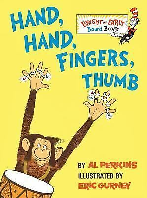 Hand, Hand, Fingers, Thumb Bright & Early Board Books